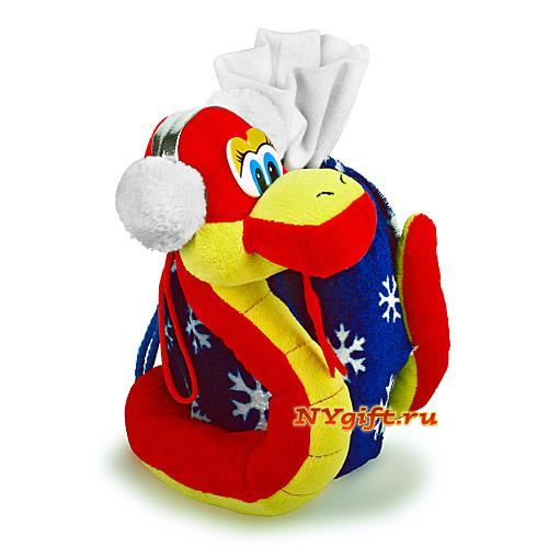 """Упаковка для конфет  """"Сладкоешка """" вид сбоку.  Весёлый Змей Горыныч..."""